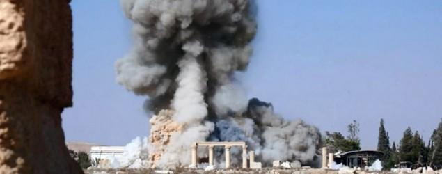Islamist militants destroy ancient tombs in Syria