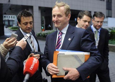 Ireland's PM Kenny arrives at an informal summit of European Union leaders in Brussels