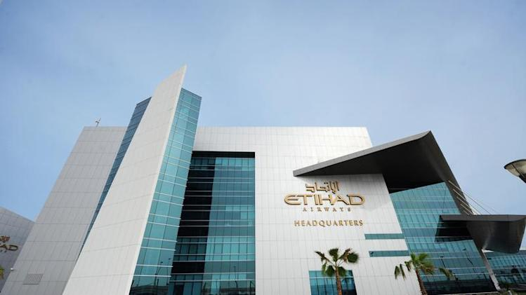 Etihad Airways headquarters in Abu Dhabi