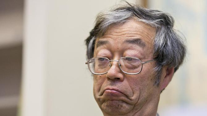 Dorian S. Nakamoto listens during an interview with the Associated Press, Thursday, March 6, 2014 in Los Angeles. Nakamoto, the man that Newsweek claims is the founder of Bitcoin, denies he had anything to do with it and says he had never even heard of the digital currency until his son told him he had been contacted by a reporter three weeks ago. (AP Photo/Damian Dovarganes)