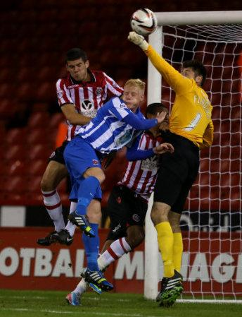 Soccer - Johnstone's Paint Trophy - Second Round - Sheffield United v Hartlepool - Bramall Lane