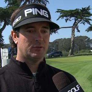 Bubba Watson interview after Round 1 of the Cadillac Match Play