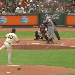C. Johnson's RBI single