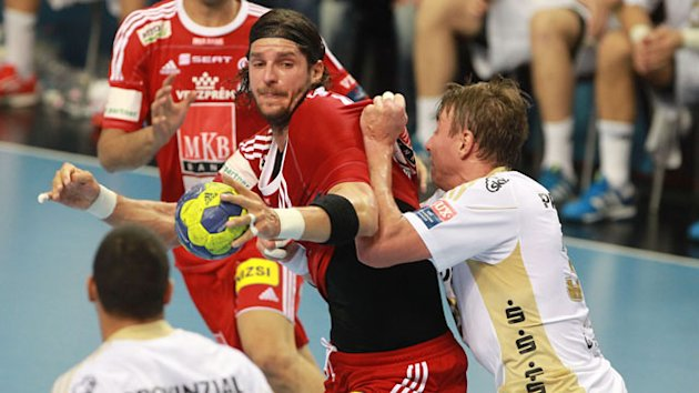 Champions League: Laszlo Nagy (MKB Veszprem) &amp; Filip Jicha (THW Kiel)