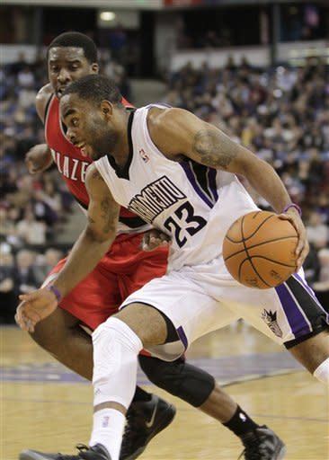 Thornton scores 20, Kings beat Blazers 95-92