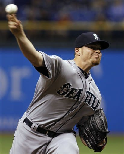 Rays' Shields beat Mariners for AL-leading 5th win
