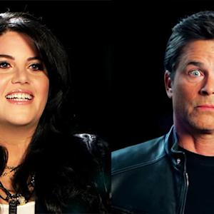 Monica Lewinsky and Rob Lowe's Odd Encounter