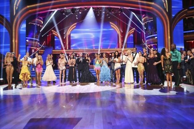 The cast of 'Dancing with the Stars: All Stars,' Sept. 24, 2012 -- ABC