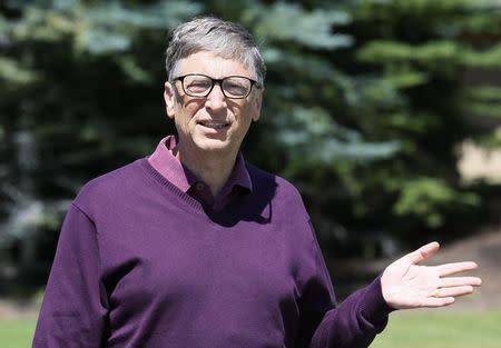 Microsoft technology advisor Bill Gates leaves after the second day of the Allen and Co. media conference in Sun Valley, Idaho
