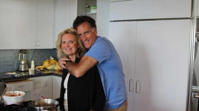 The day after Thanksgiving, Mitt Romney looked loving, yet surprisingly disheveled, in a photo he posted of himself and his wife Ann on his Facebook page.