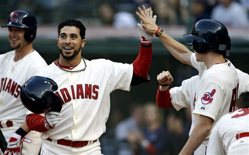 Hafner, Cano power Yankees past Indians
