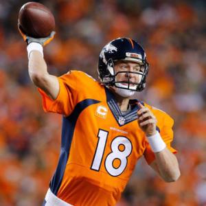 Week 8: Denver Broncos quarterback Peyton Manning highlights