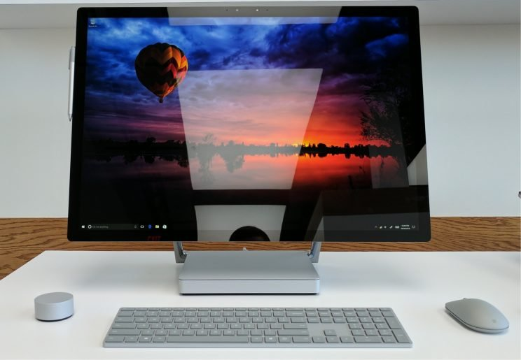 Microsoft Surface Studio design.