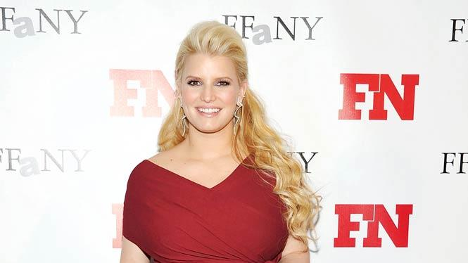 Jessicasimpson Footwear News Achievement Awards