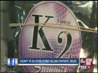 Local law enforcement has new tactics in war on synthetic drugs