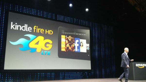 Amazon's One More Thing: A 4G-Powered Kindle Fire HD