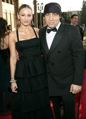 Drea De Matteo and Steven Van Zandt