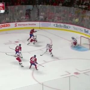 Henrik Lundqvist Save on Alex Galchenyuk (04:53/2nd)