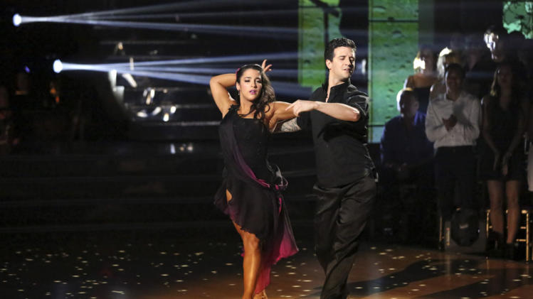 Alexandra Raisman and Mark Ballas (5/13/13)