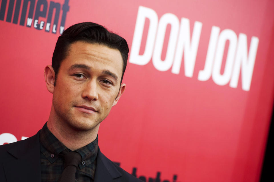 "FILE - This Sept. 12, 2013 file photo shows Joseph Gordon-Levitt at the ""Don Jon"" premiere in New York. Gordon-Levitt wrote and directed the film that opens nationwide on Sept. 27. (Photo by Charles Sykes/Invision/AP, File)"