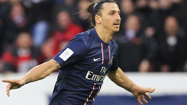 Paris Saint-Germain's Zlatan Ibrahimovic (Reuters)