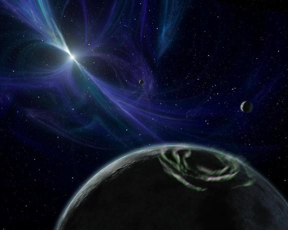 Alien Planets Circling Pulsing Stars May Leave Electric Trails