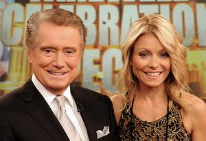 Regis Philbin, Kelly Ripa | Photo Credits: David Russell/ABC via Getty Images