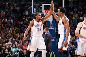 Thunder rout weary Golden State 119-98