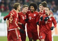 Lder incontestable de la Bundesliga, el Bayern de Mnich buscar este viernes ante el Borussia Mnchengladbach, el club que le derrot dos veces la pasada temporada, seguir batiendo rcords en el campeonato alemn. (AFP | Christof Stache)