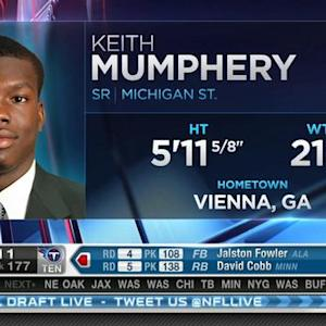 Houston Texans pick wide receiver Keith Mumphery No. 175 in 2015 NFL Draft