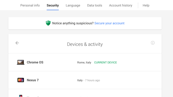 Google's latest security tool lets you easily deactivate any connected devices