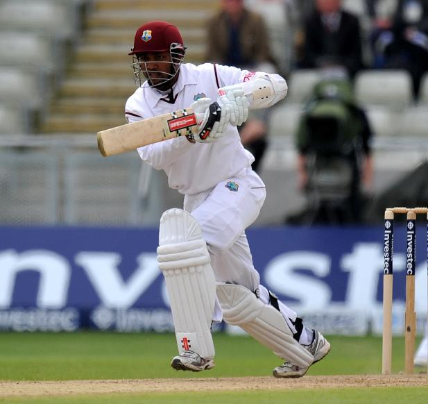 West Indies' Denesh Ramdin has put Bangladesh's bowlers to the sword on day two of the first Test