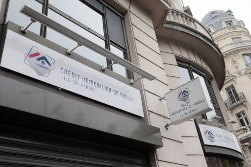 <p>The entrance to a branch of French banking group Credit Immobilier de France is pictured in Paris. French Prime Minister Jean-Marc Ayrault said Sunday that France's financial system is solid, even though the state was this weekend forced to help struggling mortgage lender Credit Immobilier.</p>