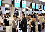 The number of Japanese traveling abroad is up by 17.5 percent during the first six months of the year