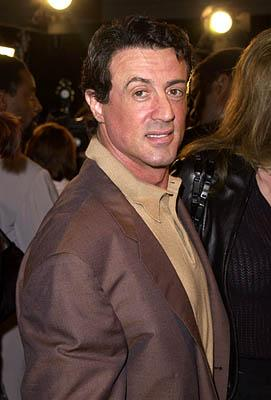 Sylvester Stallone at the Westwood premiere of Warner Brothers' Exit Wounds