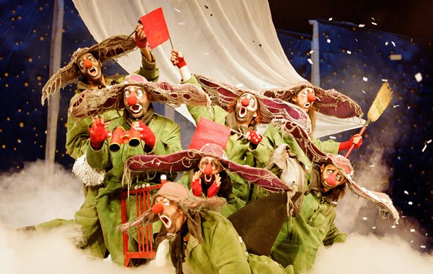 Slava's Snow Show makes demands on your imagination - with magical results (Photo courtesy of Slava's Snow Show)