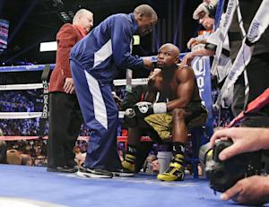 FILE - In this May 4, 2013, file photo, Floyd Mayweather …
