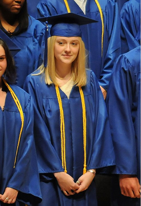 Dakota Fanning High School Graduation