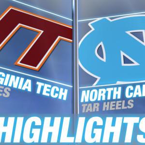 Virginia Tech vs UNC | 2015 ACC Women's Lacrosse Championship Highlights