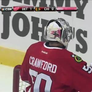 Detroit Red Wings at Chicago Blackhawks - 09/23/2014