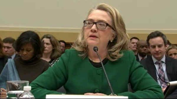 Hillary Clinton testifies on Libya attack
