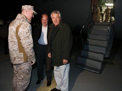 New Pentagon Chief Arrives in Afghanistan
