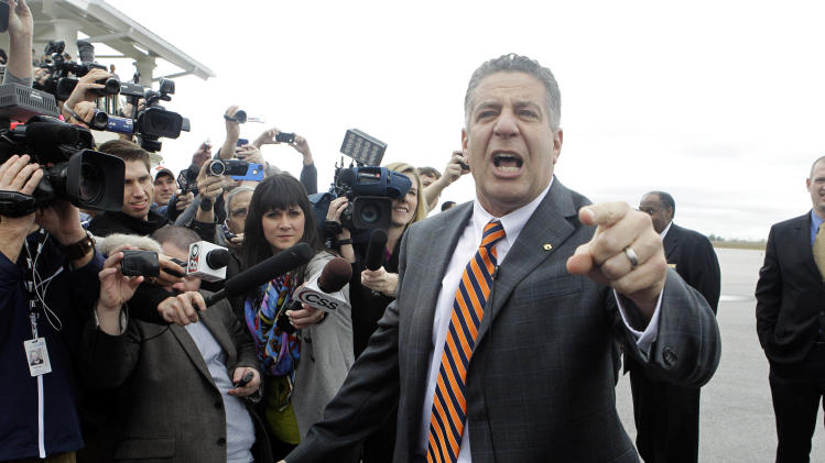 NCAA Basketball: Auburn-Bruce Pearl Press Conference