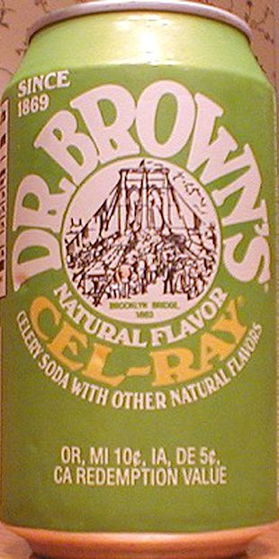 Dr. Brown's Celery Soda