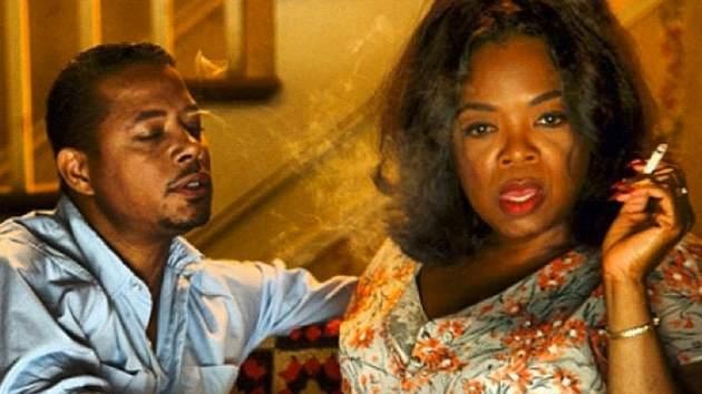 Terrence Howard and Oprah Winfrey in Lee Daniels''The Butler' -- Instagram