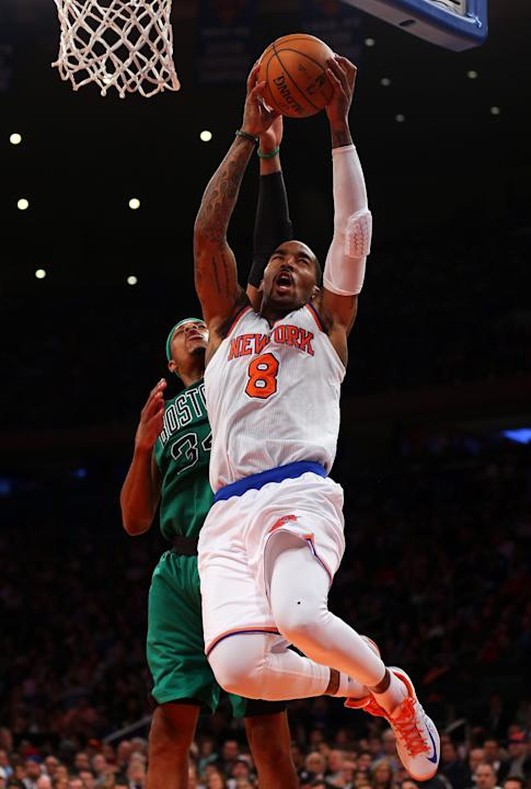 Boston Celtics v New York Knicks