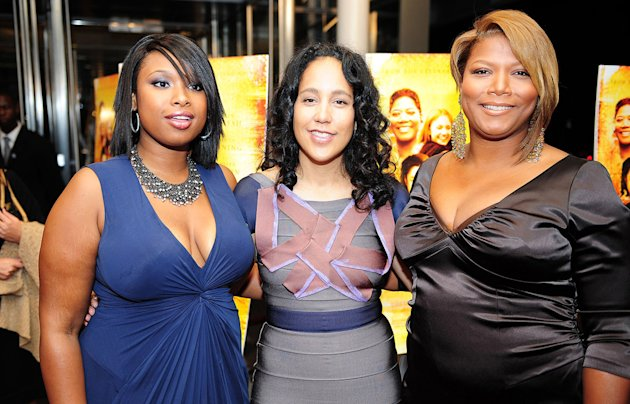 The Secret Life of Bees DC Premiere 2008 Jennifer Hudson Gina Prince Bythewood Queen Latifah