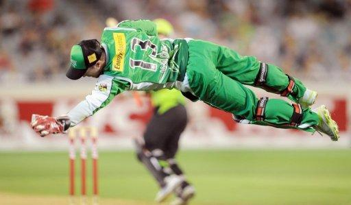 Melbourne Stars' Matthew Wade is pictured during a Big Bash T20 match in Melbourne on December 17, 2011
