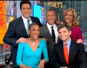 'GMA': Robin Roberts Returns to Well-Wishes, Gift Basket From NBC Rivals