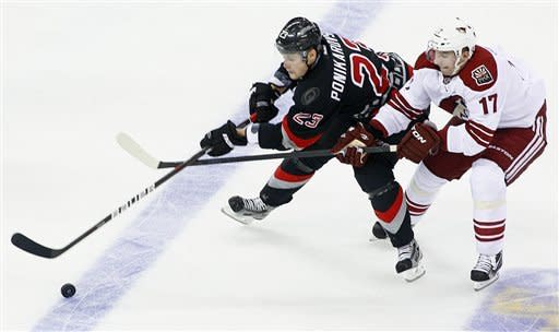 Korpikoski lifts Coyotes to 4-3 win at Hurricanes